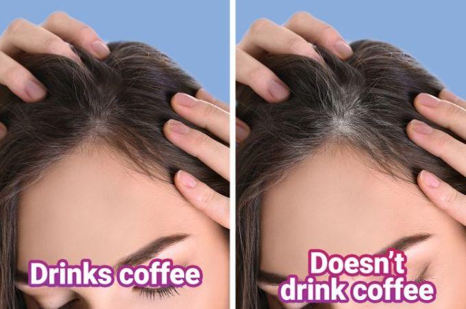 Uống cafe giúp kích thích mọc tóc