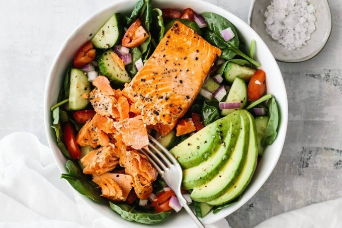 Thực đơn giàu chất xơ, protein và chất béo lành mạnh giúp giảm cân nhanh.