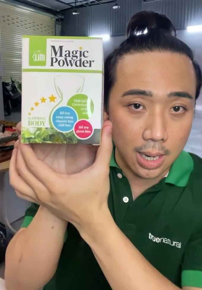 Thực phẩm bảo vệ sức khỏe HerbSlim Magic Powder góp phần giúp nghệ sĩ duy trì vóc dáng thon gọn.