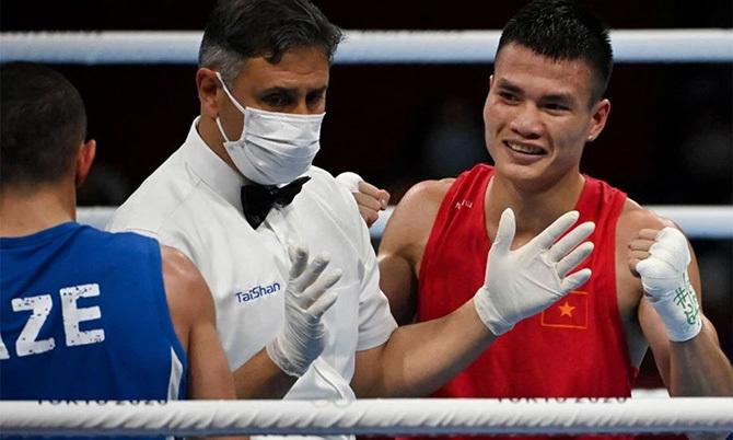 Boxing Việt Nam có chiến thắng đầu tiên sau 33 năm tại Olympic