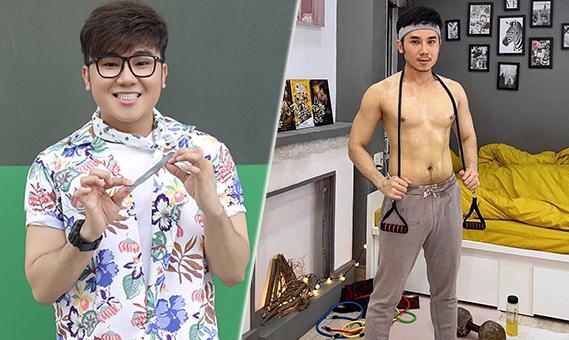 Nhờ Miu Lê, Tiến Công có động lực giảm gần 20 kg