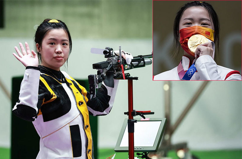 Nữ xạ thủ Trung Quốc giành HC vàng đầu tiên ở Olympic Tokyo