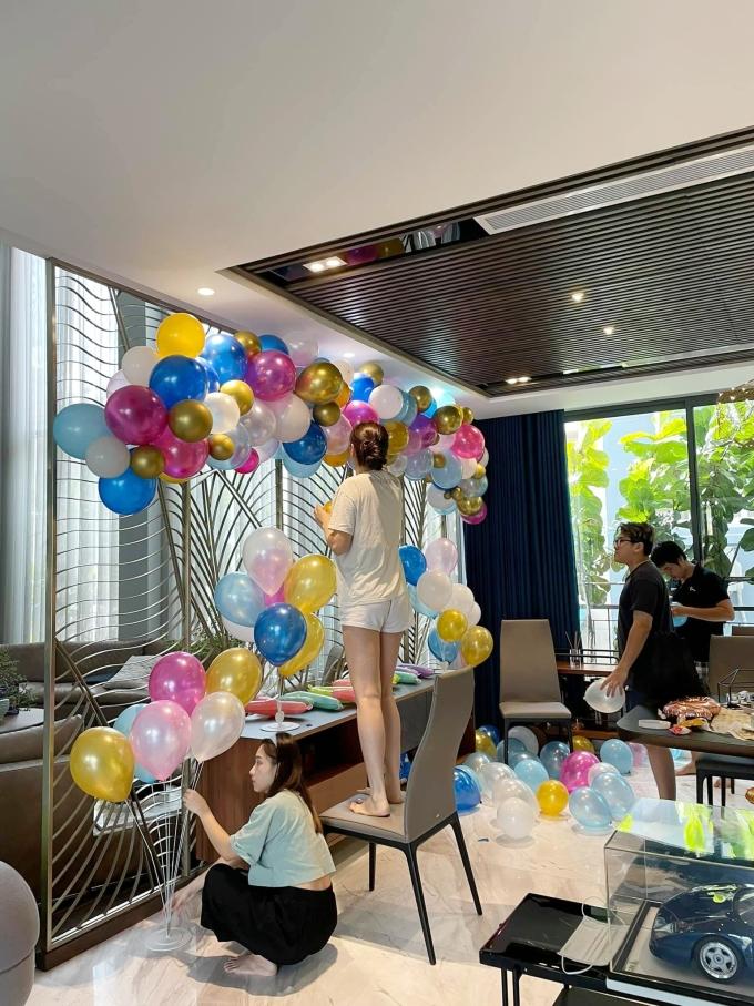 Vợ chồng Cường Đôla trang trí biệt thự mừng sinh nhật con gái - 3