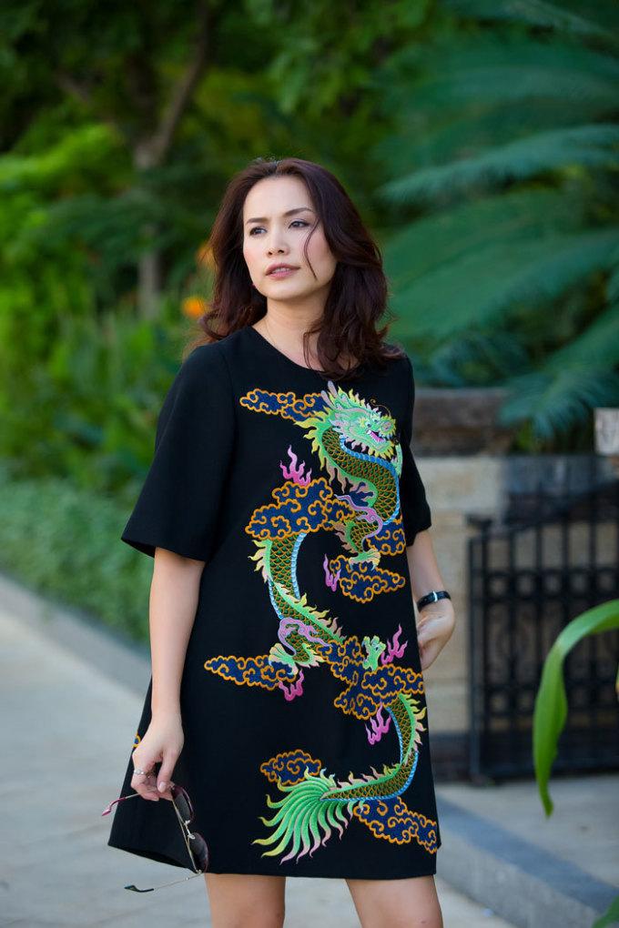 Nhan sắc không son phấn tuổi 45 của hoa hậu Ngọc Khánh - 5