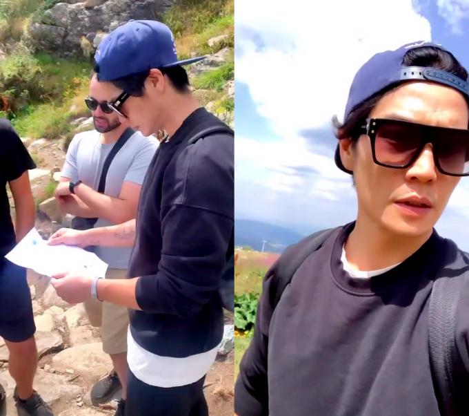 Huy Trần đưa Ngô Thanh Vân đi leo ngọn núi nổi tiếng ở Bulgaria - 3