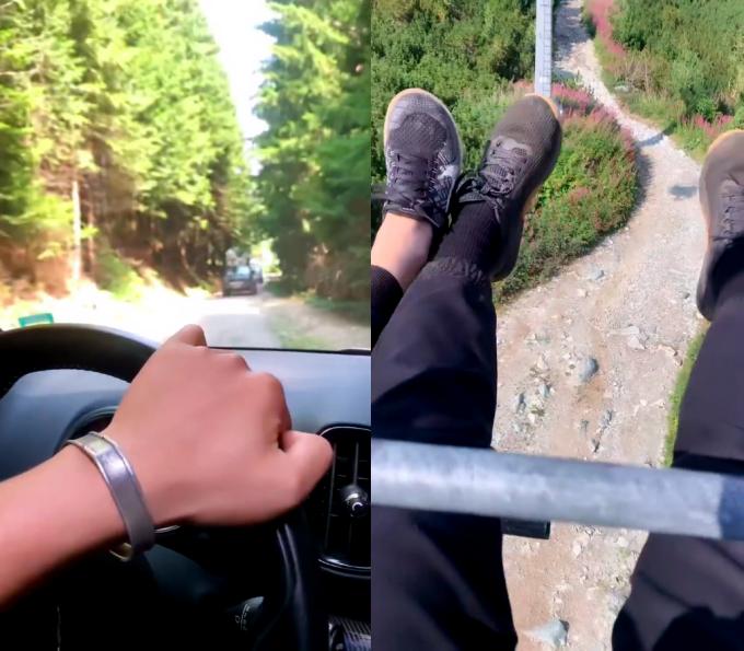 Huy Trần đưa Ngô Thanh Vân đi leo ngọn núi nổi tiếng ở Bulgaria - 4