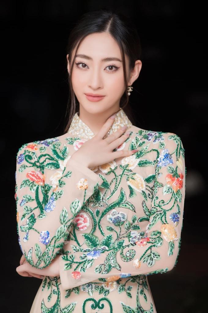 Nhan sắc của Lương Thùy Linh ở tuổi 21.