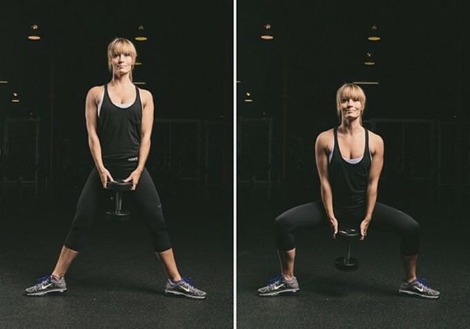 Jump squat.
