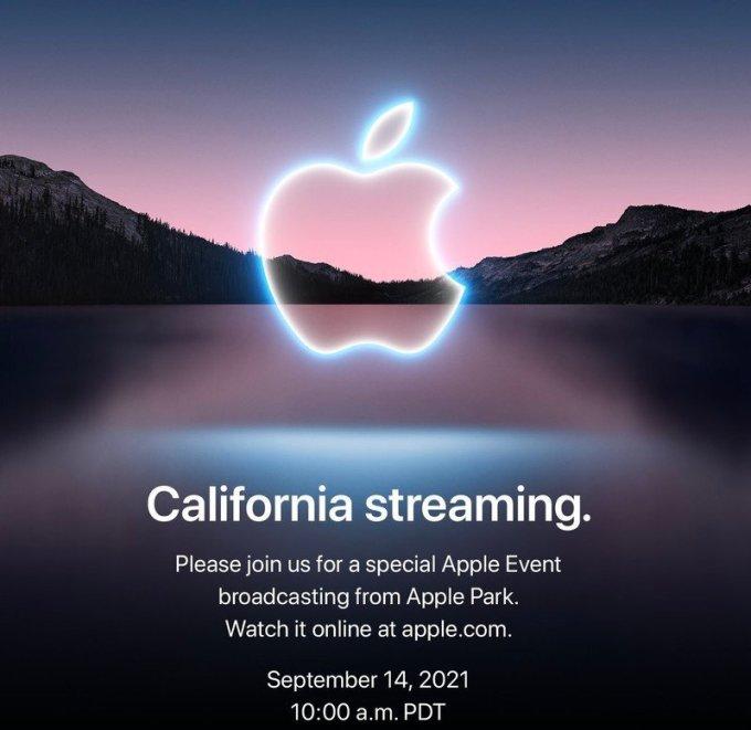 Thông tin sự kiện trực tuyến của Apple. Ảnh: Apple