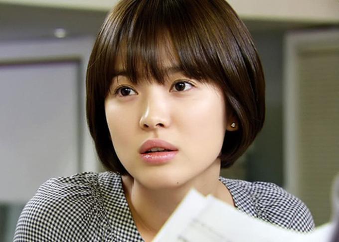 Song Hye Kyo trong phim Thế giới họ đang sống.