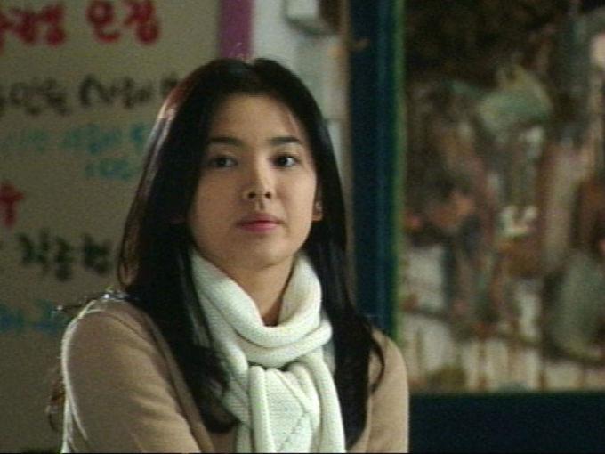Song Hye Kyo trong phim Trái tim mùa thu.