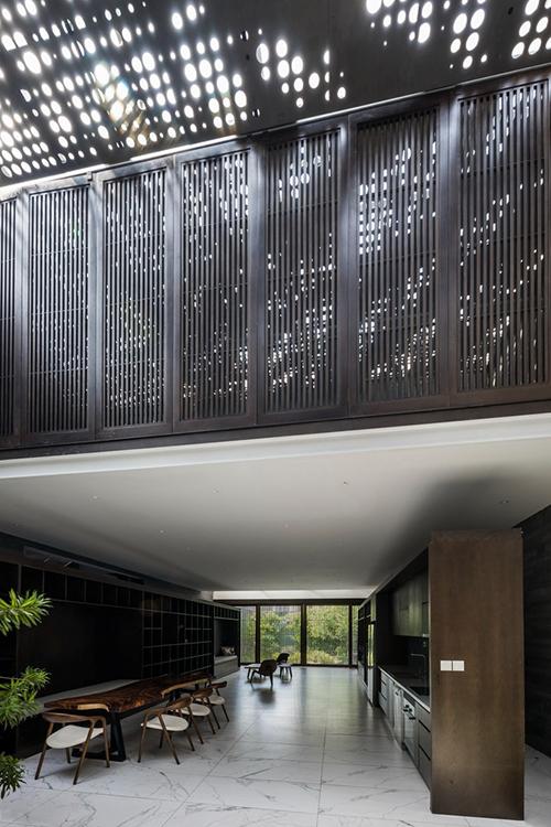 Biệt thự 2 tầng có vườn trong bếp  - page 2 - 4