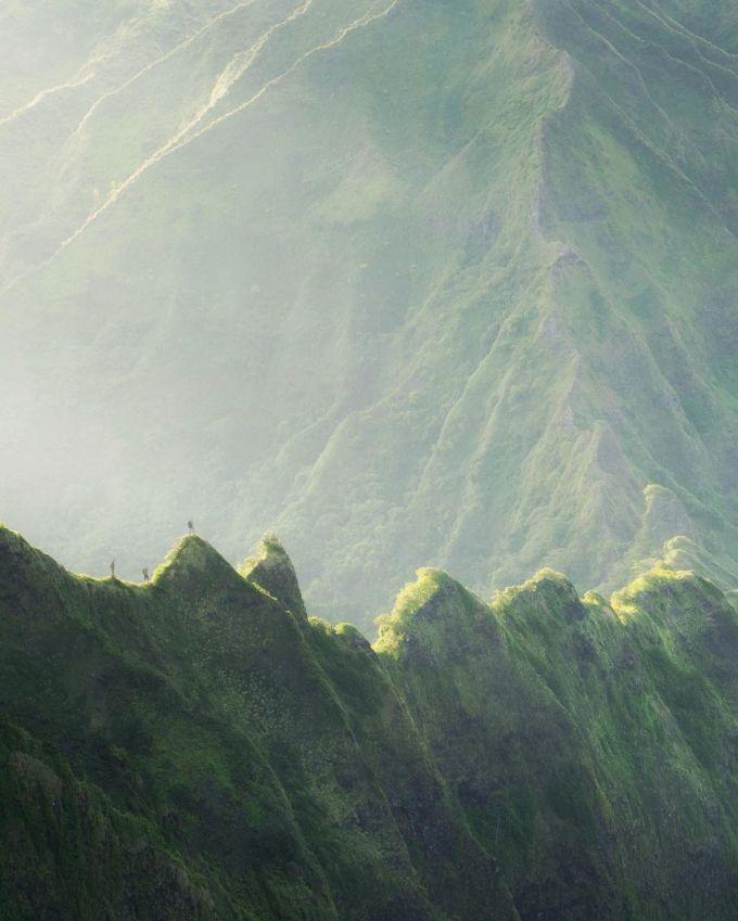 Hòn đảo tựa xứ thần tiên ở Hawaii