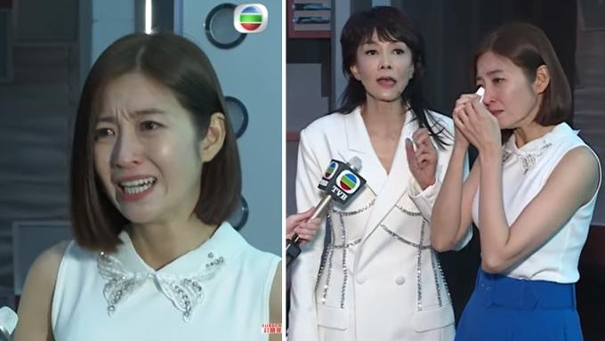 Trần Tự Dao khóc khi tham gia chương trình Dub-of-War.