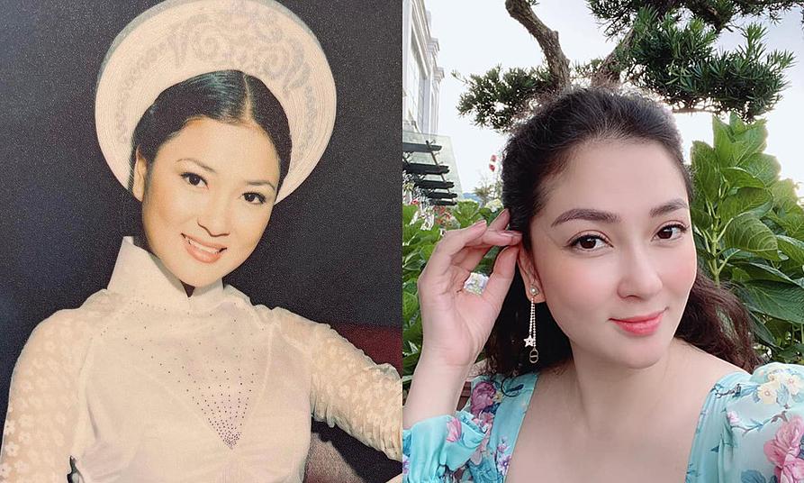 Nhan sắc theo thời gian của Nguyễn Thị Huyền